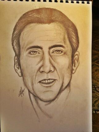 Nicolas Cage par Najla